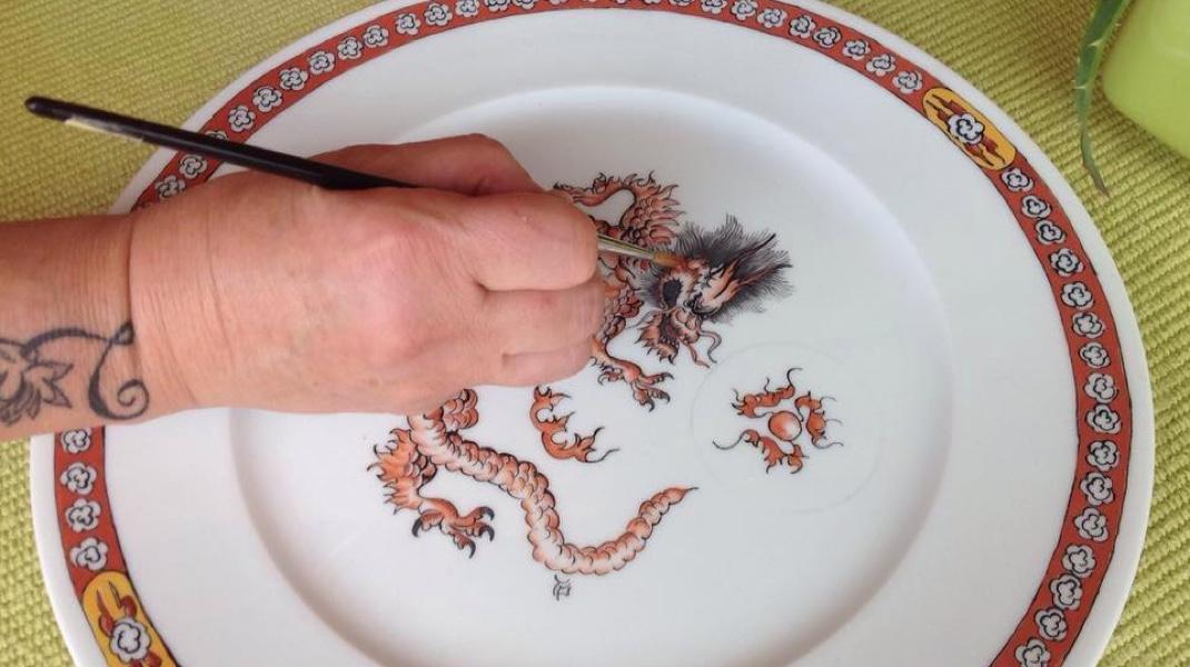 Corso pittura su porcellana intensivo